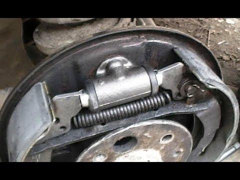 ВАЗ 2101, замена тормозных колодок и цилиндров.