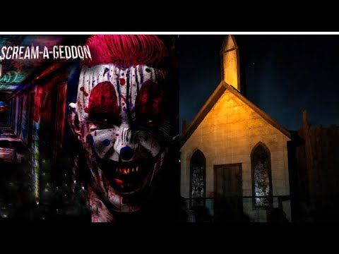 WE SURVIVED SCREAM A GEDDON! in Dade City Fl