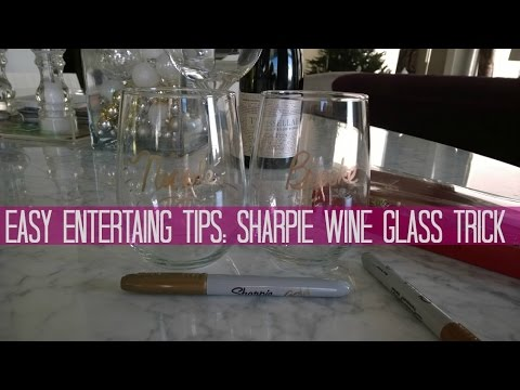 Party Tips: Keeping Track of Wine Glasses