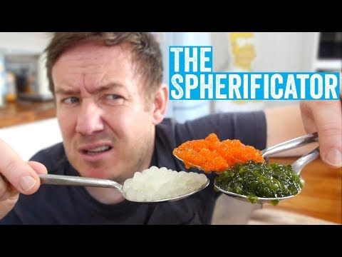 The Spherificator - turn anything into edible pearls!?