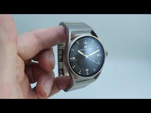 2019 Porsche Design 1919 Datetimer watch review and unboxing.  Model 6020.3.01.003.01.2