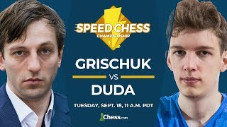 2018 Speed Chess Championship: Grischuk vs Duda