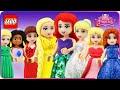 ♥ LEGO DISNEY PRINCESS MEGA COMPILATION OF BEST CARTOONS (ARIEL, FROZEN,  ..