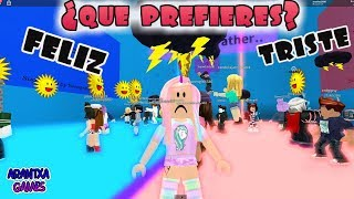 ¿Que prefieres? ROBLOX - Would You Rather
