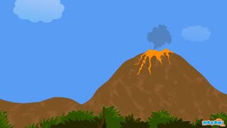 what is a volcano facts information   mocomi kids