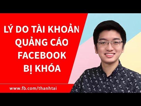 Tài Khoản Quảng Cáo Facebook Ads Bị Khóa - Nguyên Nhân Và Cách Kháng Cáo