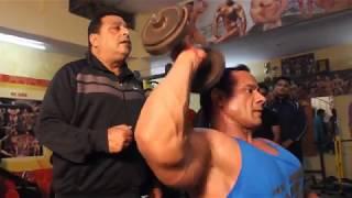 Single Part Training to Develop Shoulders