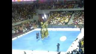 FEU Cheering Squad - 2012 Samsung UAAP Cheerdance Competition