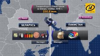 Беларусь и Пакистан могут достичь товарооборота в  млрд  к 2020 году