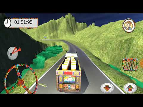 PK Cargo Truck Driving Simulator Game | Heavy Duty Truck Driver | Android GamePlay FHD