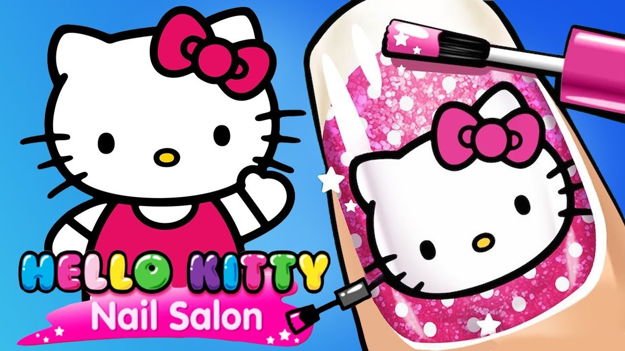 Hello Kitty Nail Salon - Free Mobile Game Online - yiv.com