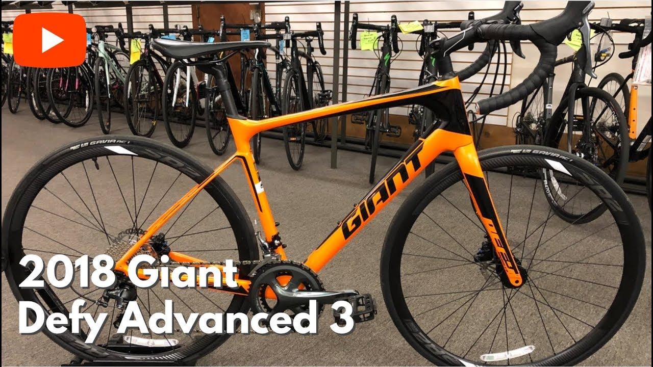 18a7b8cdcac 2018 Giant Defy Advanced 3 - YouTube