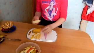 Фруктовый салат - простой рецепт для детей и подростков