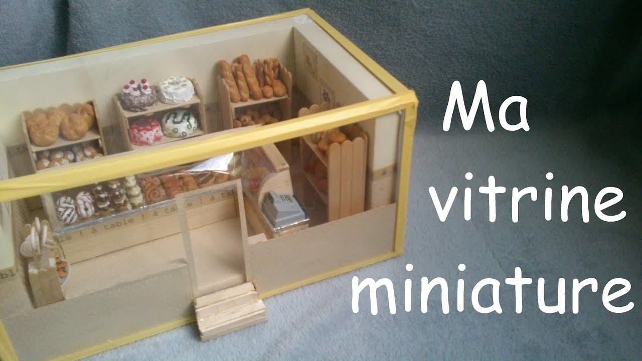 Ma Vitrine Miniature Boulangerie Pr Sentation Youtube