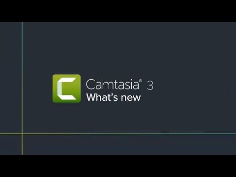 Camtasia 3 (Mac): What's New