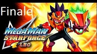 MegaMan Star Force Leo Gameplay\Walkthrough Part 28 Finale