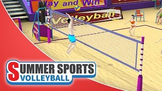 Summer Sports: Beach Volleyball - Game Trailer (Spil Games)