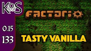 Factorio 0.15 Tasty Vanilla Ep 133: BLUE CIRCUIT STATION - Expensive Recipes, Let