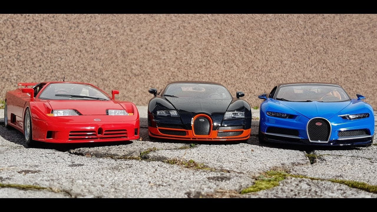 bugatti chiron vs. veyron vs. eb110 - youtube