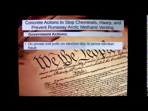 How to Stop Chemtrails and HAARP, 3-16-2015 (HAARP Report Re-Upload)