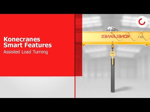 Latest Smart Features for industrial cranes: Assisted Load Turning