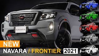 Frontier 2021 D24 and Nissan Navara Np300 4x4 Redesign Unveiled Officially