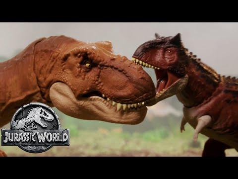 The Dinosaur Escape Part 2 (Sweded) | Jurassic World: Fallen Kingdom | Mattel Action!