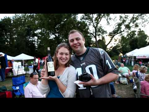 Interview: Hanna & Ken Lewin at the Dauphin County Wine & Jazz Festival