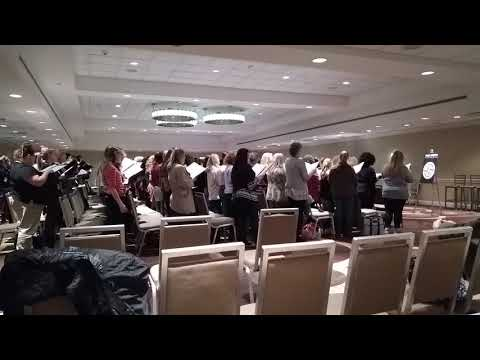 Lauren Daigle Choir Practice