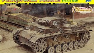 POV Speed Build: Dragon Pz.Kpfw.III Ausf.E France 1940 PART 1