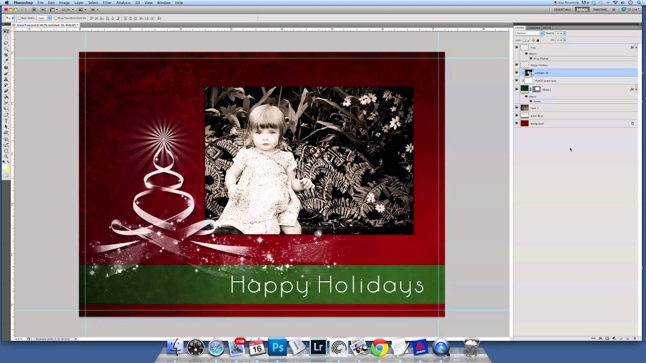 Inserting a photo into a greeting card template youtube inserting a photo into a greeting card template kristyandbryce Image collections