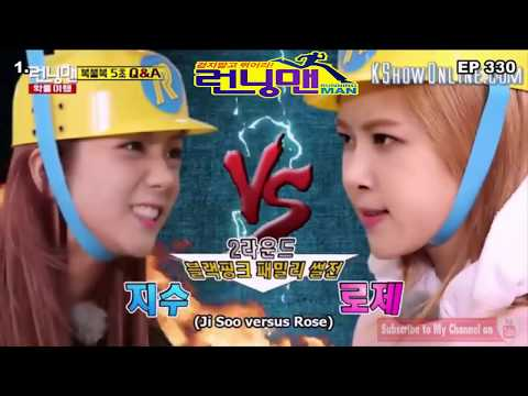 Running Man   TOP Funny 5s Fast Question Game