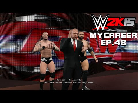 WWE 2K15 MYCAREER: The Authority is Impressed with Deagle! (Xbox One 1080p)