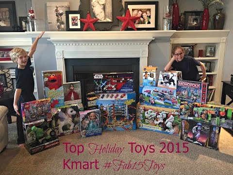 The Best Holiday Toys this Season - KMart #Fab15Toys