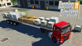 !ПЕРВЫЙ ПРИЦЕП c АВТОПОГРУЗКОЙ для Farming Simulator 19