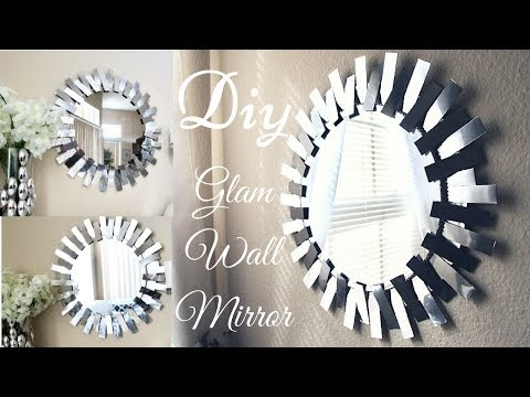 Diy Glam Mirror Recreation That is Simple, Quick and Inexpensive!!!