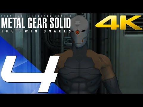 Metal Gear Solid Twin Snakes HD - Walkthrough Part 4 - Grey Fox Boss Fight [4K 60fps]