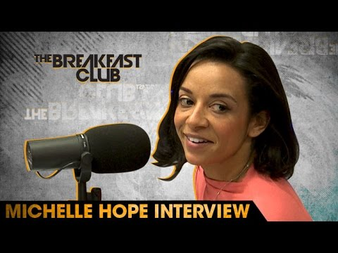 Sexologist Michelle Hope  at The Breakfast Club Power 105.1 04292016