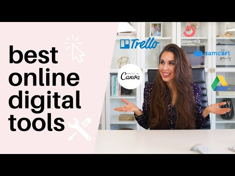 BEST Digital Marketing Tools To Grow Your Online Business In 2019 ⚙� 🛠�// Kimberly Ann Jimenez