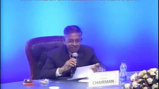 Lt. General [Retd] Dr. VJ Sundaram, Indian Army, Sharing His Thoughts At The Aero India 2013 Seminar