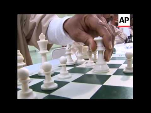 A group of undergraduate chess players from Princeton University took on the best chess players at a