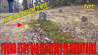 spirit here tells me they like where they are buried