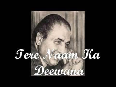 TERE NAAM KA DEEWANA KARAOKE BY WARSI'S PRODUCTION