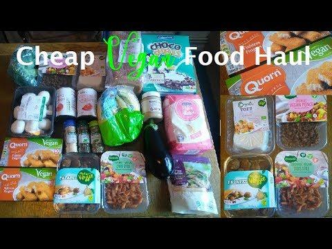 Cheap vegan food haul UK #2 (£20 a week)