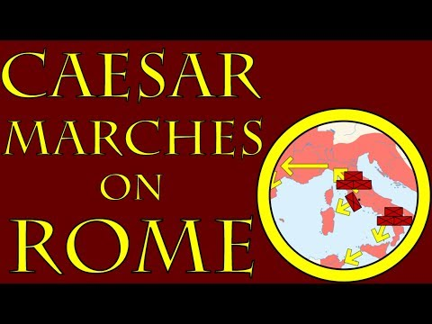 Caesar Marches on Rome (49 B.C.E.)