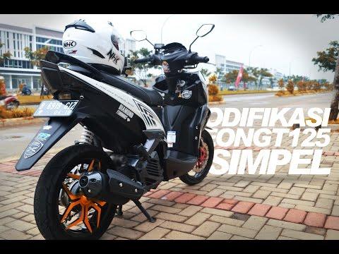 MODIFIKASI XEON GT 125 SIMPEL