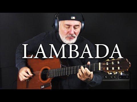 Lambada – Kaoma – fingerstyle guitar cover – solo de violão