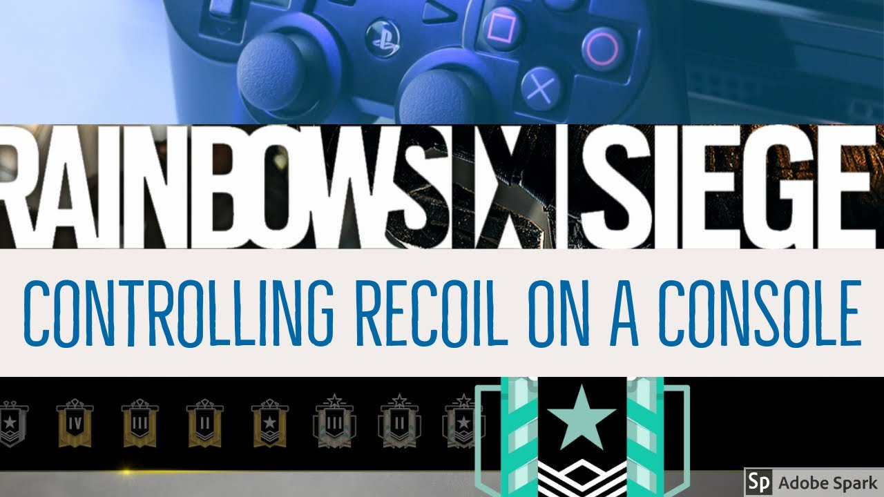 ll Rainbow Six Siege Tips || Console Recoil Drill
