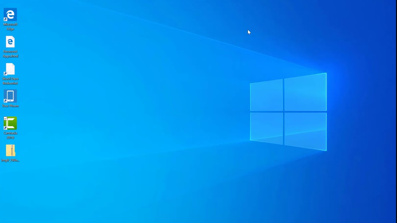 Hands On With Windows 10 19h1 Build 18290 Youtube