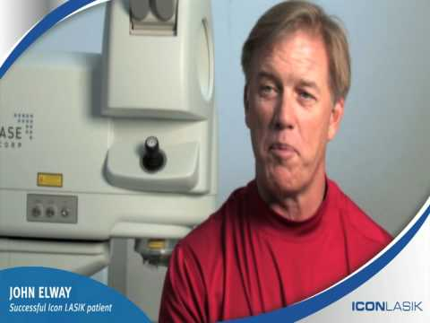 John Elway Selects Icon LASIK In Denver Colorado Laser Eye Surgery